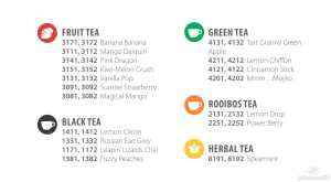 Steeped Tea BOGO sale on seasonal teas