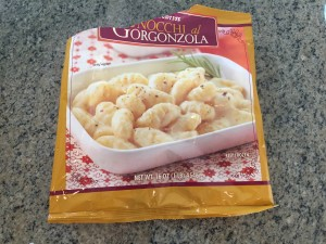 Trader Joe's gorgonzola gnocchi sauce repurposed
