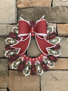 Small, Christmas wreath